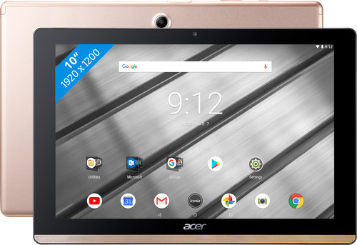 Acer Iconia One 10 B3-A50FHD 32 GB Goud Main Image