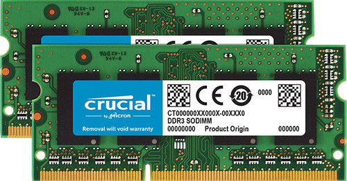 Crucial 16GB DDR3L 1600 SODIMM for Mac Main Image