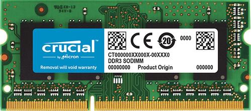 Crucial 8GB DDR3L 1600 SODIMM for Mac Main Image