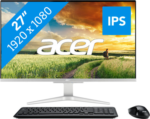 Acer Aspire C27-865 I5622 NL All-in-One Main Image