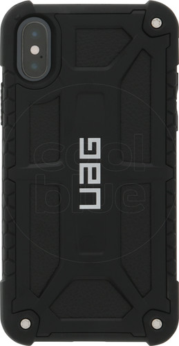 UAG Monarch Apple iPhone X Back Cover Black Main Image