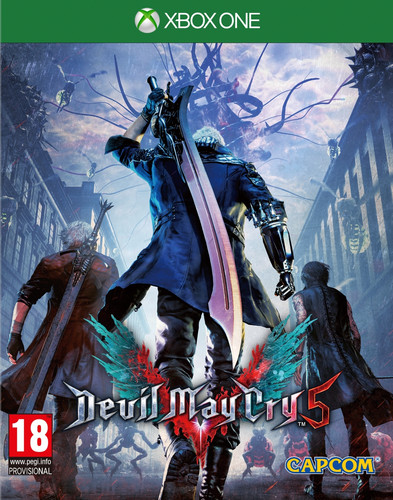 Devil May Cry 5 Xbox One Main Image