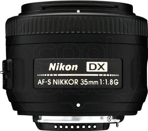 Nikon AF-S 35mm f/1.8G DX Main Image