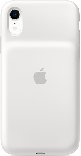 Apple iPhone Xr Smart Battery Case White Main Image