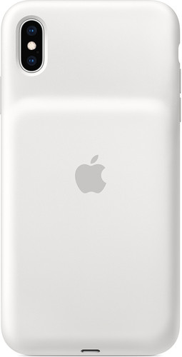 Apple iPhone Xs Max Smart Battery Case White Main Image