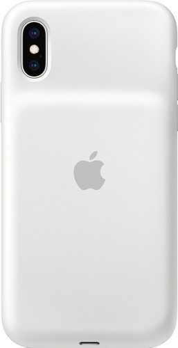 Apple iPhone Xs Smart Battery Case White Main Image