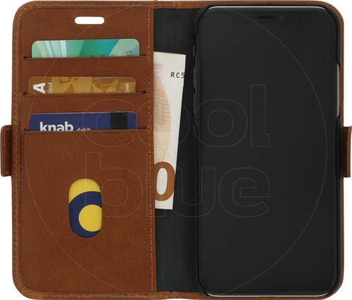DBramante1928 Copenhagen Apple iPhone X Book Case Bruin Main Image