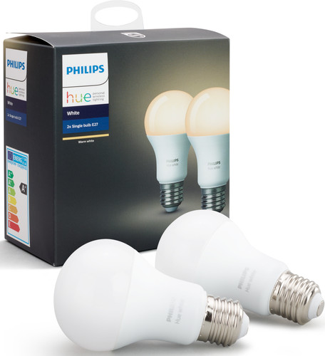 Philips Hue White E27 Duopack Main Image