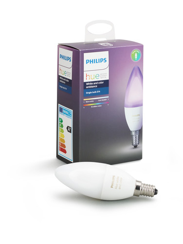 Philips Hue White and Color E14 Main Image