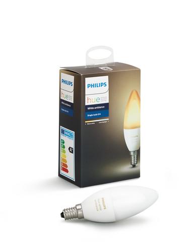 Philips Hue White Ambiance E14 Singlepack Main Image