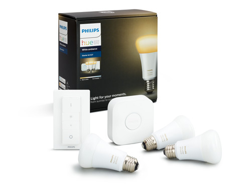 Philips Hue White Ambiance Starter Pack with Dimmer Main Image