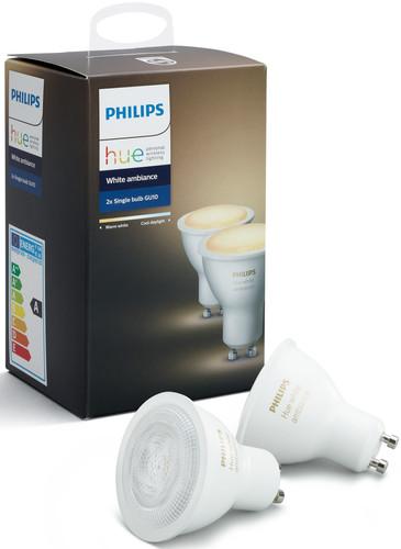 Philips Hue White Ambiance GU10 Duopack Main Image