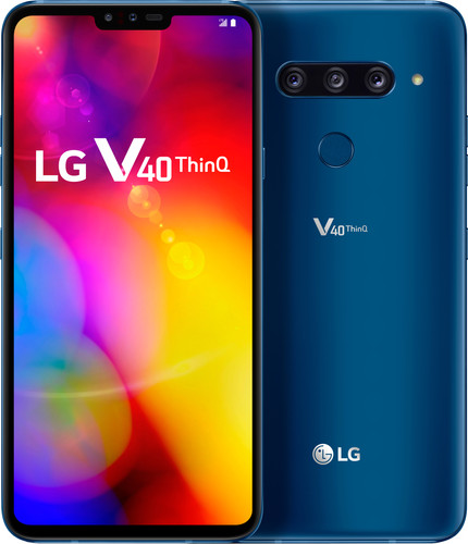 LG V40 ThinQ Blauw Main Image
