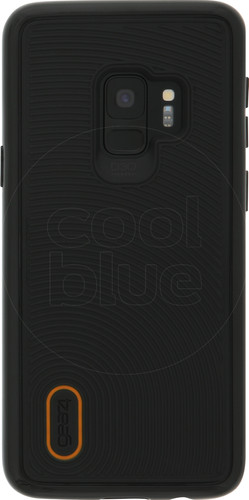 GEAR4 D3O Battersea Samsung Galaxy S9 Back Cover Zwart/Oranje Main Image