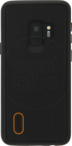 GEAR4 D3O Battersea Samsung Galaxy S9 Back Cover Black/Orange Main Image