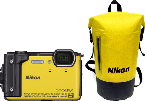 Nikon Coolpix W300 Yellow Main Image