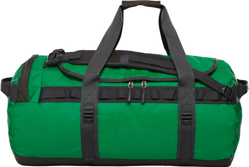 The North Face Base Camp Duffel M Primary Green / Asphalt Gray Main Image