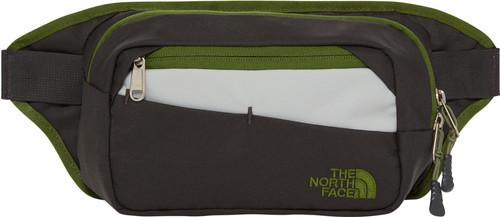 The North Face Bozer Hip Pack II Asphalt Gray / Garden Green Main Image