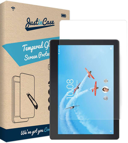 Just in Case Tempered Glass Lenovo Tab E10 Screenprotector Glas Main Image