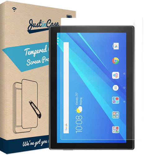 Just in Case Tempered Glass Lenovo Tab P10 Screenprotector Glas Main Image