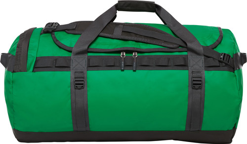 The North Face Base Camp Duffel L Primary Green / Asphalt Gray Main Image
