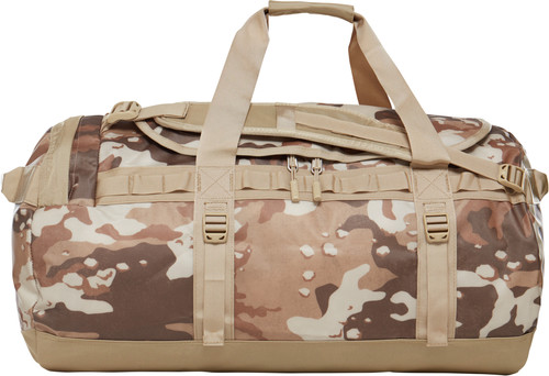 The North Face Base Camp Duffel M Moab Khaki Woodchip Camo Desert Main Image