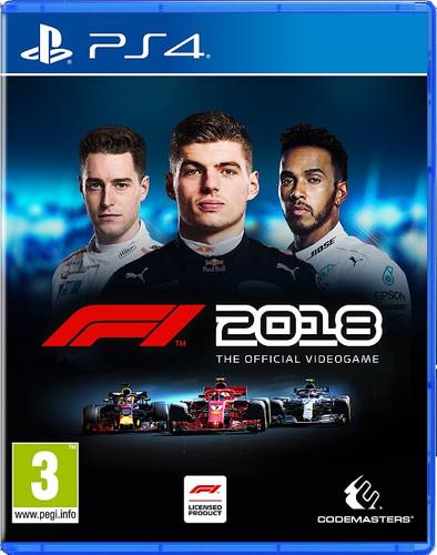 F1 2018 PS4 Main Image