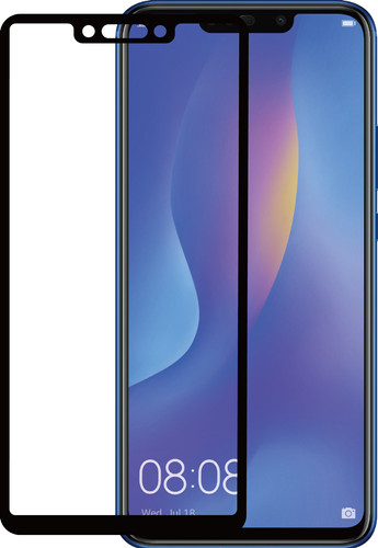 Azuri Tempered Glass Huawei P Smart Plus Screen Protector Black Main Image