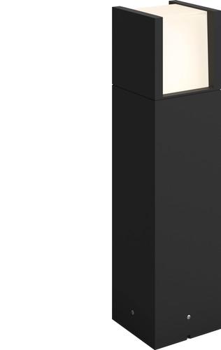 Philips Hue Fuzo Outdoor Light On Pedestal