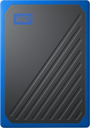 WD My Passport Go 500 GB Black / Blue Main Image
