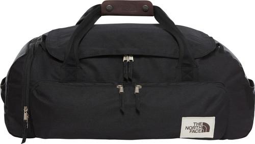 The North Face Berkeley Duffel M NTF Black Heather Main Image
