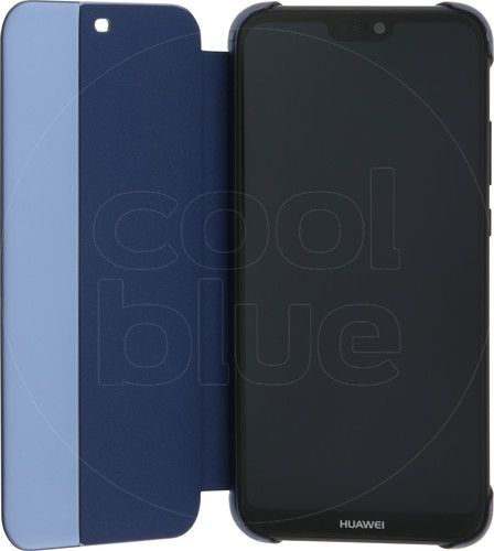 Huawei P20 Lite Flip Cover Book Case Blue Main Image