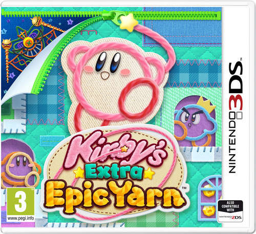 Kirby's Extra Epic Yarn 3DS Main Image
