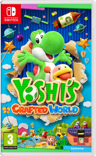 Nintendo Yoshi's Crafted World Switch Main Image