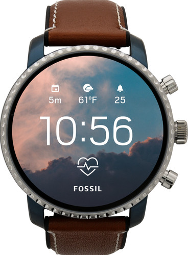 11e28f758 Fossil Q Explorist Gen 4 FTW4016 - Coolblue - Before 23:59 ...