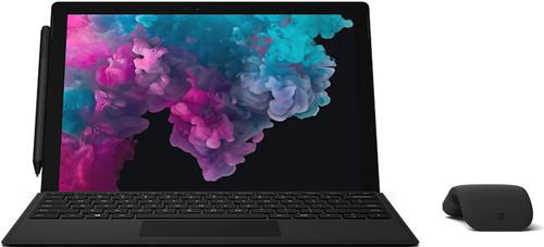Microsoft Surface Pro 6 - i5 - 8 GB - 256 GB Black voorkant