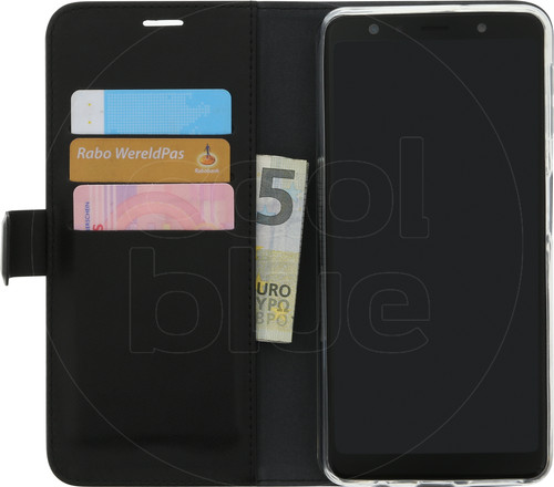 Azuri Wallet Magnet Samsung Galaxy A7 (2018) Book Case Black Main Image