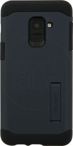 Spigen Slim Armor Samsung Galaxy A8 (2018) Back Cover Grijs Main Image