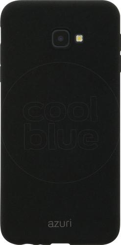 Azuri Flexible Sand Samsung Galaxy J4 Plus Back Cover Black Main Image