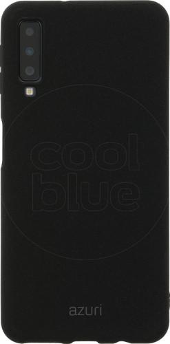 Azuri Flexible Sand Samsung Galaxy A7 (2018) Back Cover Black Main Image
