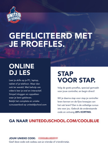 United DJ School Gratis Introductie les Main Image
