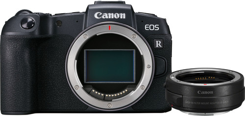 Second Chance Canon EOS RP Body + EF-EOS R Adapter Main Image