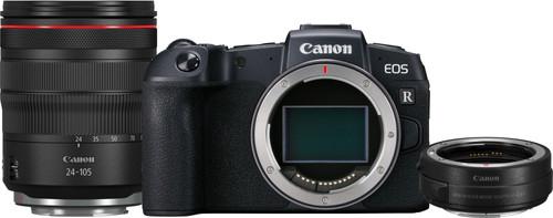 Canon EOS RP + RF 24-105mm f/4L IS USM + EF-EOS R Adapter Main Image