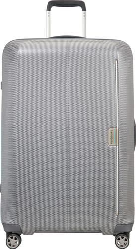 4cb1a906d8f Samsonite Mixmesh Spinner 75cm Grey/Capri Blue - Coolblue - Voor ...