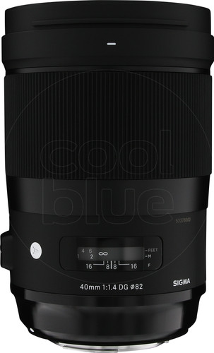 Sigma 40mm f/1.4 DG HSM Art Canon Main Image