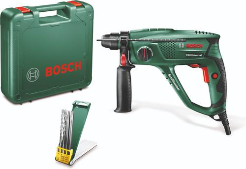 Bosch PBH 2100 Universal + 4-delige SDS-Plus boor- en beitelset Main Image