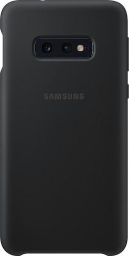 Samsung Galaxy S10e Silicone Back Cover Black Main Image