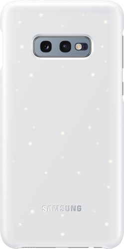 Samsung Galaxy S10e Led Cover Back Cover White Main Image