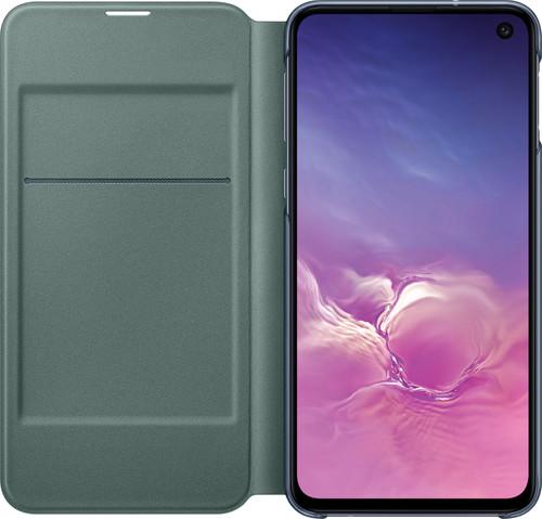 Samsung Galaxy S10e Led View Cover Book Case Black Main Image