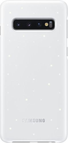 Samsung Galaxy S10 Led Cover Back Cover White Main Image